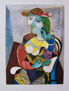 Pablo Picasso RECLINING NUDE AT BEACH Estate Signed Limited Edition Art Giclee