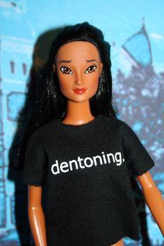 Dentoning Doll Ava $35.00 online or in store at the Denton CVB.