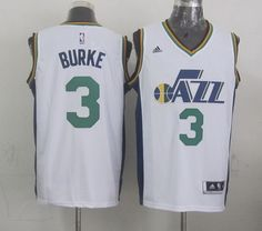 Utah Jazz #3 Trey Burke Revolution 30 Swingman 2014 New White Swingman Jersey