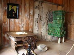 The ceramic tile stove of Martin Luther.
