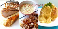 Kall Kycklingröra med curry - ZEINAS KITCHEN Food In French, Baguette, Baked Potato, French Toast, Food And Drink, Meat, Chicken, Breakfast, Ethnic Recipes