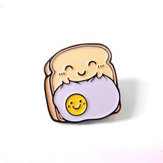Sleep Toast Pin