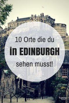 Bist du noch auf der Suche nach einem ausgefallenen Citytrip in Europa? Edinburgh, die charmante Hauptstadt im hohen Nordens von Großbritannien hat einiges zu bieten! Hier findest du praktische Reisetipps und 10 Orte, die du auf keinen Fall verpassen da