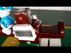Kids Rides swing game machine –Smurfs seesaw