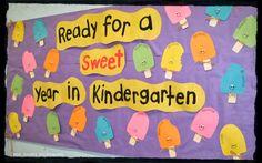 Mrs. Jones's Kindergarten: bulletin boards