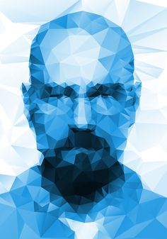 HEISENBERG Walter White Illustration design; polygon