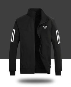 Legit Cheap adidas Originals Jacket 2018 New Style Fashion Trend Clothing 20188 Black - 2019 Adidas Jacket Mens, Adidas Hoodie, Adidas Men, Queer Fashion, Style Fashion, Sport Outfits, Trendy Outfits, Adidas Outfit, Moda Fitness