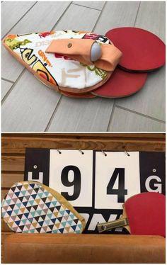 Tischtennis-Schlägerhülle zum Nähen - Schnittmuster und Nähanleitung via Makerist.de