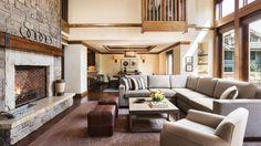 Four Seasons Hotel and Resorts at Jackson Hole US. The Three bedroom plus loft resort residence.