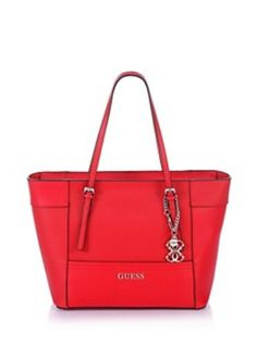 Guess Delaney Mini Tote Crossbody Candy Red