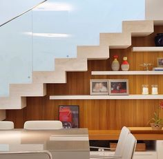 Four Attic Renovation Ideas to Give New Life to Unused Space - Attic Basement Ideas Stair Wall Decor, Stair Walls, Staircase Storage, Staircase Design, Interior Stairs, Interior Architecture, Interior Design, Attic Renovation, Attic Remodel