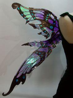 Nightingale Fairy Wings 6 by FaeryAzarelle.deviantart.com on @deviantART