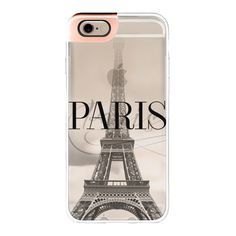 iPhone 6 Plus/6/5/5s/5c Metaluxe Case - Paris (rose gold) ($50) ❤ liked on Polyvore featuring accessories, tech accessories, iphone case, apple iphone cases and iphone cover case