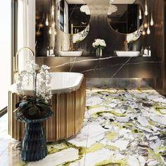 Click to Visit our Blog and discover how to style coffee and side tables like a designer! #chandelier #bocadolobo #interiordesign #luxurylifestyle #homedecor #interiorvibes #luxurydiningroom #dining_room #brabbu #lightingideas #luxurychandelier #diningtabe #suspentionlamp #bathroom #brabbu #maisonvalentina #versace #insplosion #luxurylivinggroup # #lightingdesign #architecture #housedecoration #homedesign #bestinteriordesign #lightingideas #luxurydesign #fendi #hermes #fendicasa Furniture Ideas, Home Furniture, Furniture Design, Luxury Dining Room, Luxury Living, Luxury Home Decor, Luxury Homes, Contemporary Side Tables, Luxury Chandelier