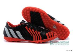 more photos 96597 55c1a adidas Predator Absolion Instinct TF mens Adidas Soccer Shoes- Black Running  White Infrared  98