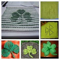 Quick Shamrock Knitting Patterns