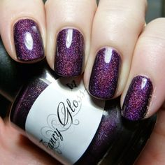 Fancy Gloss Lacquer: Frozen Berries. This is a real winner, I highly recommend her polishes.