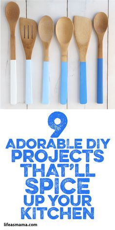 9 Adorable DIY Projects That'll Spice Up Your Kitchen