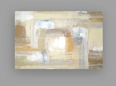 Acrylic Abstract Painting Original Art on by OraBirenbaumArt