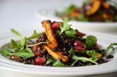 Kublanka vaří doma - Čočkový salát s pečenou dýní