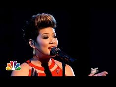 """▶ Tessanne Chin: """"I Have Nothing"""" - The Voice Highlight - YouTube Nice tribute to Whitney. Love Tessanne!"""