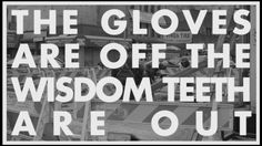 """Vampire Weekend #Lyrics - Step - """"The gloves are off, the wisdom teeth are out"""""""
