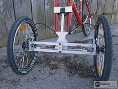 Parallélogramme du prototype Addbike