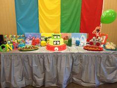 Yo Gabba Gabba Cake Table