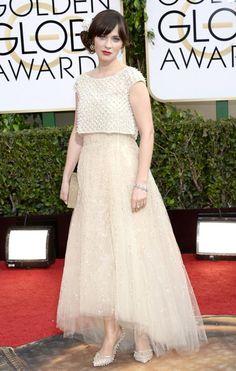 Golden Globes: Zooey Deschanel