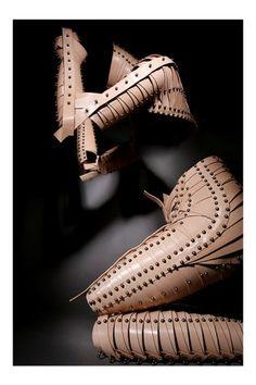 Una Burke Fashion Artifacts sculptural prosthetics