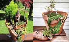 Home / Guida al risparmio / Come trasformare un vaso rotto in un grazioso micro-giardino Come trasformare un vaso rotto in un grazioso micro-giardino
