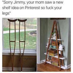 Take that Jimmy!