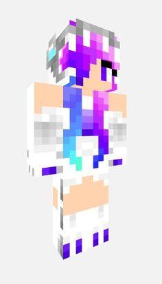 Resultado de imagen de skin de chica gamer en minecraft unicornio
