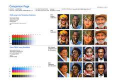 ColorCal Comparison Page