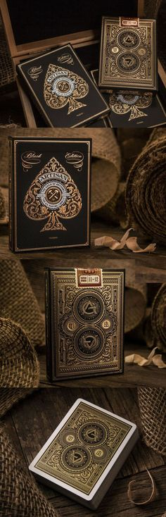 I collect decks of cards and these r pretty cool!