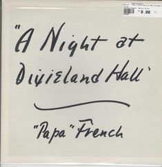 """Papa"" French And His New Orleans Jazz Band - A Night At Dixieland Hall Free Mp3 Music Download, Mp3 Music Downloads, Al Jarreau, Jazz Band, New Orleans, French, Night, Products, French People"