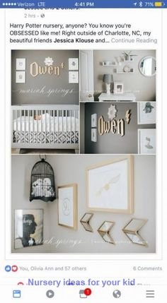 Baby Girl Themes Nursery Harry Potter 64 Ideas – baby world Baby Nursery Diy, Baby Room Diy, Baby Bedroom, Baby Boy Rooms, Baby Boy Nurseries, Diy Baby, Nursery Ideas, Budget Nursery, Nursery Room