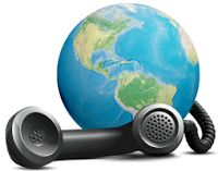 """""""Smart Conference Call"""" services are easy to use with full features. It is great for allowing international conference calls anywhere in the world by calling in through the web."""