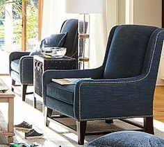 All Chairs & Ottomans   Pottery Barn