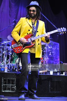 Guitarist Mike Campbell of Tom Petty and The Heartbreakers perform at Honda Center on October 7, 2014 in Anaheim, California.