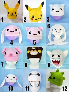 Gorros Kawaii Otaku Anime Jake Finn Chimuelo Deadpool - Bs. 2.000,00 en Mercado Libre