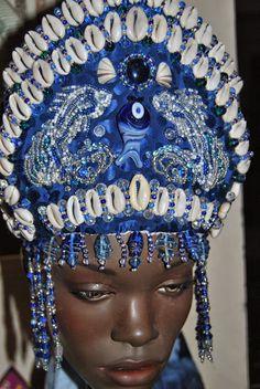 Ọmọ Esú  Ọ̀dára: ASÍNDE : Commissioned and SOLD: Crown for Yemoja/Yemanja/Ye...