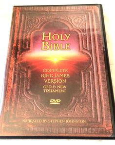 The Holy Bible Complete King James Version - Old & New Testament- (2-disc DVD)