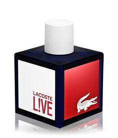 Der Herrenduft #Lacoste L!ve überzeugt uns mit seinem belebenden Aroma und dem modernen Flakon!