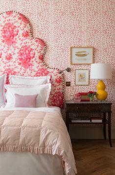 Jessica Buckley Interiors Red Interior Design, Home Interior, Home Bedroom, Bedroom Decor, Decor Room, Bedroom Ideas, Master Bedroom, Red Interiors, Bedroom Interiors