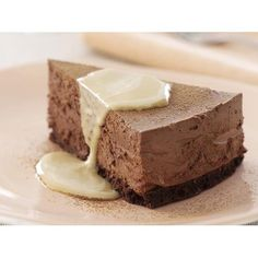 Chocolate mousse cake with coffee anglaise recipe - By Australian Women's Weekly