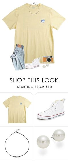 """""""happy sunday"""" by kellycarrick ❤ liked on Polyvore featuring Southern Tide, Converse, AK Anne Klein and Fujifilm"""