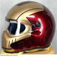 motorcycle Helmets | Motorcycle Helmets: I am Iron Man