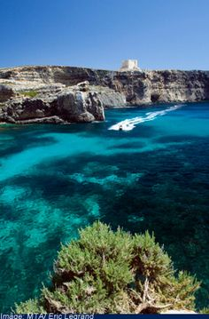 The other side of Comino Island Malta Island, The Other Side, Running Away, Greek Islands, Gem, Ship, Water, Places, Travel