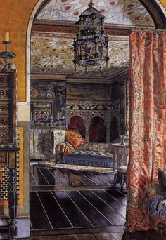 The Drawing Room At Townshend House, Sir Lawrence Alma Tadema.
